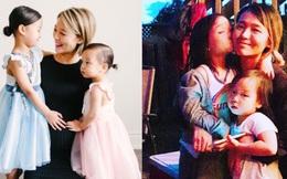 Cựu thành viên Wonder Girls giờ đã là mẹ 3 con, công khai gương mặt của 2 bé
