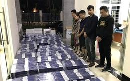 Chặn lượng lớn thuốc lá ngoại nhập lậu tuồn vào Thủ đô