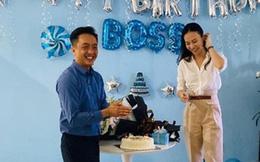 Được Cường Đô La mừng sinh nhật sớm, Đàm Thu Trang lần đầu để lộ vóc dáng sau tin đồn mang thai con đầu lòng
