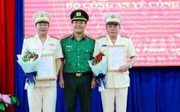 Công an Bình Phước có 2 phó Giám đốc mới