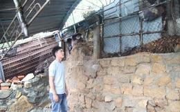 Số phận 36 ngôi nhà dưới chân núi Gành có thể bị đá đè sập