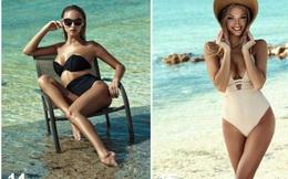 Chân dài nước Nga Kristina Sheiter quyến rũ mê mẩn với áo tắm