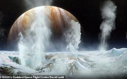 NASA phát hiện hơi nước trên Mặt Trăng Europa của sao Mộc