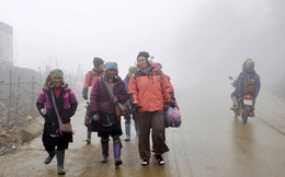 Dự báo thời tiết 22/11, Hà Nội mưa rét, Sa Pa 8 độ