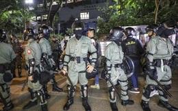 Hồng Kông triển khai cảnh sát chống bạo động cho bầu cử địa phương