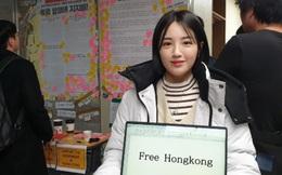 Sinh viên Trung Quốc và Hàn Quốc xung đột vì Hong Kong