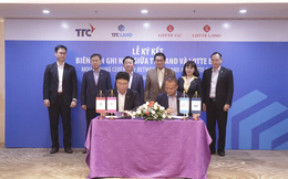 Lotte đầu tư 100 triệu USD vào TTC Land