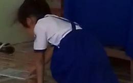 Cảnh cáo nữ giáo viên quăng vở học sinh xuống nền gạch ở Bạc Liêu