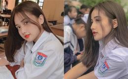 'Thiên thần đồng phục' ở Hà Nam: Sở hữu vẻ đẹp 'đốn tim' và bảng thành tích 11 năm liền làm lớp trưởng