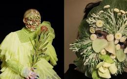 Mỹ nhân Nga gây sốt MXH với phong cách trang điểm bằng rau củ quả: Lúc thì đẹp như họa báo, lúc dị đến nổi da gà