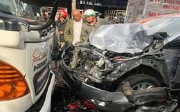 Thiếu tá quân đội định bỏ trốn sau khi gây tai nạn chết người