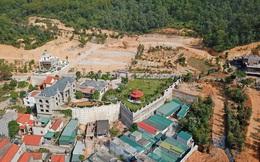 Cận cảnh ngọn đồi bị san phẳng xây biệt thự trái phép ở Quảng Ninh