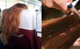 Đang đi xe buýt, người phụ nữ lấy kéo cắt phăng đuôi tóc dài của cô gái trẻ phía trước, dân mạng biết lý do liền phản ứng trái chiều