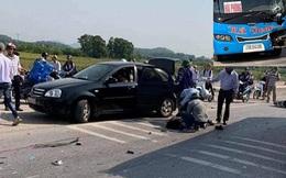 Xe khách và xe máy va chạm, 2 học sinh tử vong