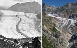 Loạt ảnh xưa - nay gây shock về sự thay đổi của các dòng sông băng: Xót xa quá, Trái đất ơi!