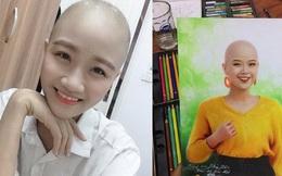 Cùng cảnh mắc ung thư, họa sĩ 9x vẽ tranh cổ vũ nữ sinh Đại học Ngoại thương