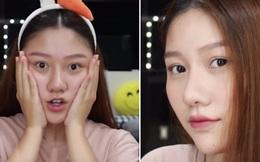 Em gái út sinh năm 1999 của MC Trấn Thành khoe mặt mộc và nhan sắc 'chặt chém' dù chỉ makeup sương sương