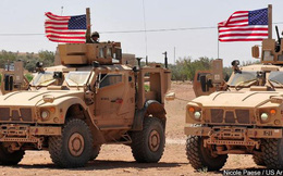 Quân đội Mỹ dồn quân và phương tiện quân sự tới các mỏ dầu ở đông bắc Syria