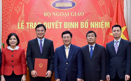 Phó Thủ tướng trao quyết định bổ nhiệm cán bộ