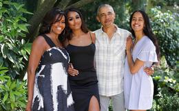 Con gái út của ông Obama lại khiến cộng đồng mạng chao đảo vì quá xinh đẹp và gợi cảm, chiếm hết spotlight của gia đình