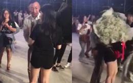 """Niềm vui nhân đôi: Đi fanmeeting Running Man Việt Nam, cô gái được cầu hôn trước hàng trăm người gây """"đốn tim"""" cực mạnh"""
