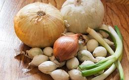 Hành tây, hành lá và tỏi loại nào tốt nhất cho sức khỏe? Câu trả lời sẽ khiến bạn bất ngờ