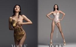 Loạt ảnh táo bạo rực lửa của người mẫu U40 xứ Hàn