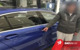 Thanh niên dùng khóa rạch xước BMW mới toanh để ép cha mua tặng
