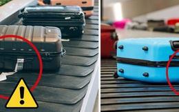 Có một lỗi đơn giản khiến cho hành lý ký gửi dễ bị thất lạc, chỉ cần 3 giây để xử lý nhưng hầu như du khách nào cũng quên!