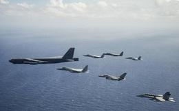 Không quân Mỹ lập kế B-52 đánh bom tàu xâm chiếm Đài Loan