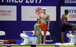 Hơn đối thủ cả vòng bể, Huy Hoàng phá kỷ lục SEA Games, vượt chuẩn Olympic