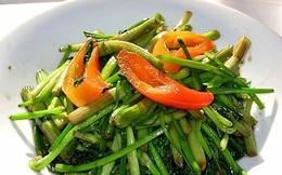 Món ăn thuốc từ rau cần