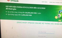 VPBank lên tiếng về website giả mạo, 'móc túi' khách hàng