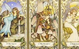Rút một lá bài Tarot để đi tìm quý nhân phù trợ giúp bạn gặp dữ hóa lành, tai qua nạn khỏi trong tháng 12