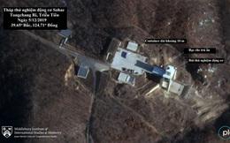 Ảnh vệ tinh tiết lộ động thái bất thường tại bãi thử tên lửa của Triều Tiên