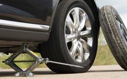 Lý do lốp dự phòng ô tô chỉ nên sử dụng trong thời gian ngắn