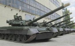 """Soi độ ổn định """"chất"""" nhất thế giới của """"xe tăng bay"""" T-80BV Ukraine"""