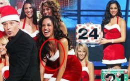Meghan Markle bị lôi ảnh quá khứ hở vòng 1, mặc váy siêu ngắn khiến ai nhìn cũng phải đỏ mặt