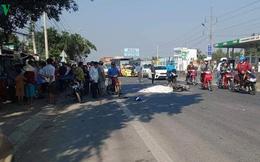 Thanh niên đi xe máy tử vong tại chỗ sau va chạm với xe buýt