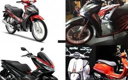 Những mẫu xe máy mới vừa ra mắt hút người tiêu dùng