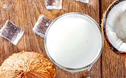 Không phải ai cũng biết những tác dụng tuyệt vời này của nước cốt dừa đối với sức khỏe