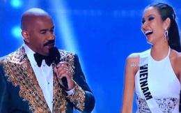 """Trọn vẹn màn phát biểu của Hoàng Thùy khi lọt Top 20: """"Cô bé bán hàng rong trên xe lửa đến Miss Universe, tôi đã làm được!"""""""