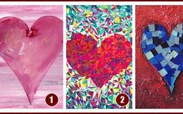 Chọn một bức tranh trái tim yêu thích và đi tìm thông điệp tình yêu dành cho bạn trong thời gian tới