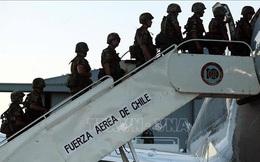 Máy bay quân sự của Chile mất tích