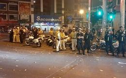 Xử lý gần 100 quái xế vi phạm giao thông khi đi cổ vũ đội tuyển Việt Nam