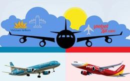"""Màn """"đá xéo"""" giữa 2 sếp hàng không: Vietnam Airlines tuyên bố """"một hãng hàng không lấy phi công của hãng khác không tạo ra gì mới cho xã hội"""", VietJet phản bác """"8 năm hoạt động chúng tôi không một tấc đất cắm dùi"""""""