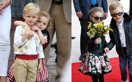 Cặp song sinh hoàng gia Monaco đón sinh nhật 5 tuổi với thần thái hơn người, nổi bật hơn cả hai con của Công nương Kate