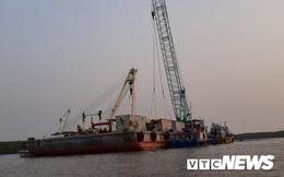 Ảnh: Cận cảnh việc tìm kiếm, cứu hộ 3 người mất tích khi vớt tàu ở Cần Giờ