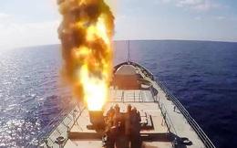 Chiến hạm Nga từng tham chiến ở Syria phóng tên lửa Kalibr diệt mục tiêu mất 2 phút