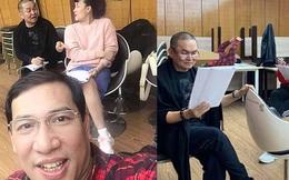 Hé lộ hậu trường dàn nghệ sĩ miền Bắc quên giá rét chuẩn bị cho chương trình thay Táo quân, Xuân Hinh bất ngờ xuất hiện